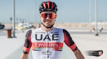 Marc Hirschi in maglia UAE Team Emirates © PhotoFizza