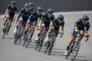 I corridori del Movistar Team impegnati in allenamento © Movistar Team