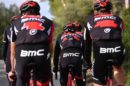 I corridori del BMC Racing Team in allenamento © Tim De Waele