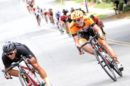 Nigel Ellsay impegnato in discesa © Rally Cycling