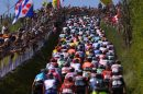 Il gruppo all'Amstel Gold Race © UCI