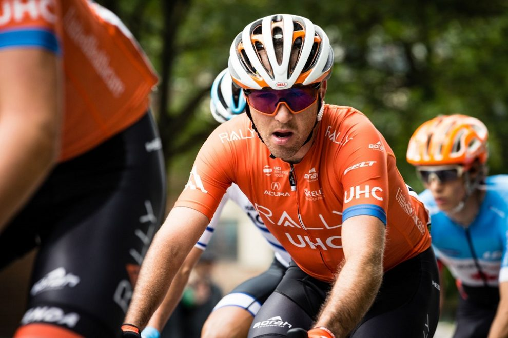 Ryan Anderson in azione © Rally Cycling